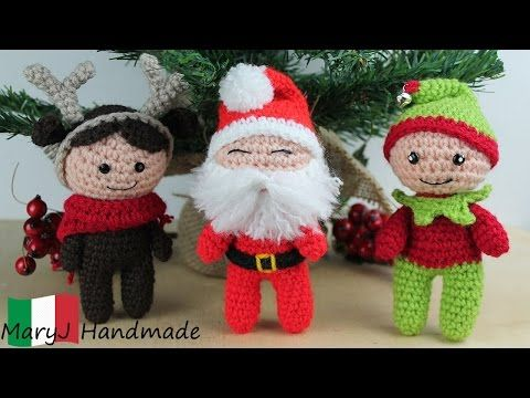 Amigurumi Tutorial Natale : Tutorial amigurumi: bambolina renna youtube video youtube