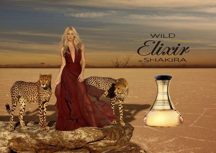 Wild Elixir by Shakira - Fragrância de floral oriental. Traz a combinação de tangerina, bergamota, groselha preta, pêssego, flor de laranja… | Shakira, Fotos, Looks
