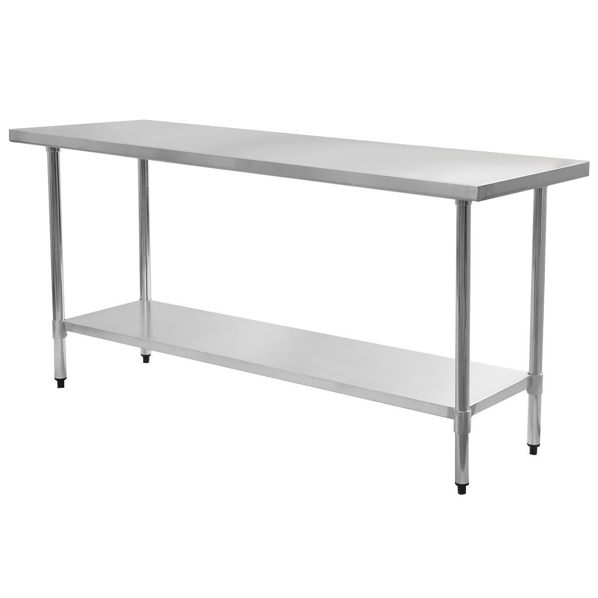 24 X 72 Stainless Steel Work Prep Table Commercial Kitchen Restaurant With Images Stainless Steel Kitchen Table Modern Kitchen Tables Stainless Steel Work Table
