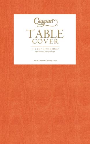 Deep Orange Tablecloth