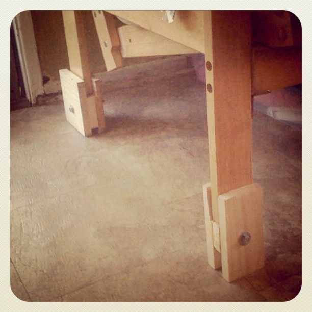 Homemade Futon risers DIY and crafts  Pinterest  Wood Bed