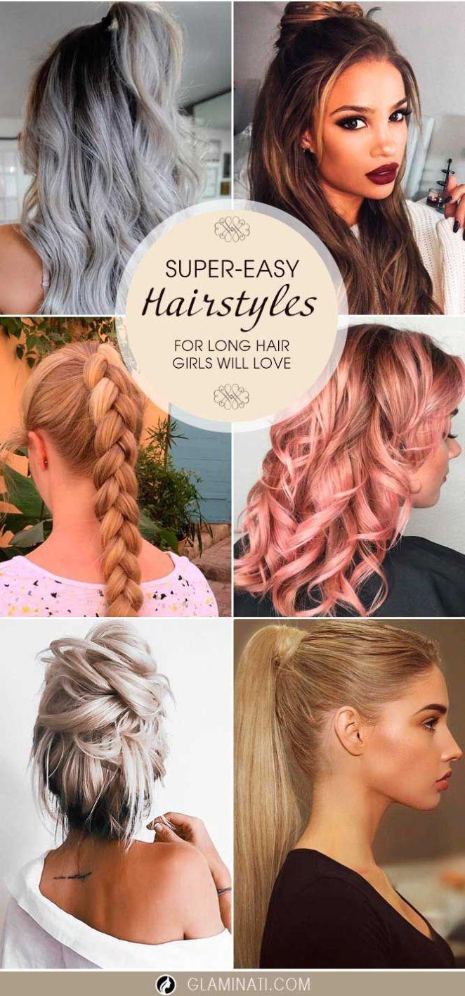 Nouvelle tendance coiffures pour femme u supereasy long