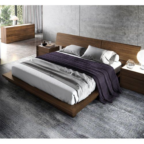 found it at allmodern hunter platform bed - Enclosed Bed Frame