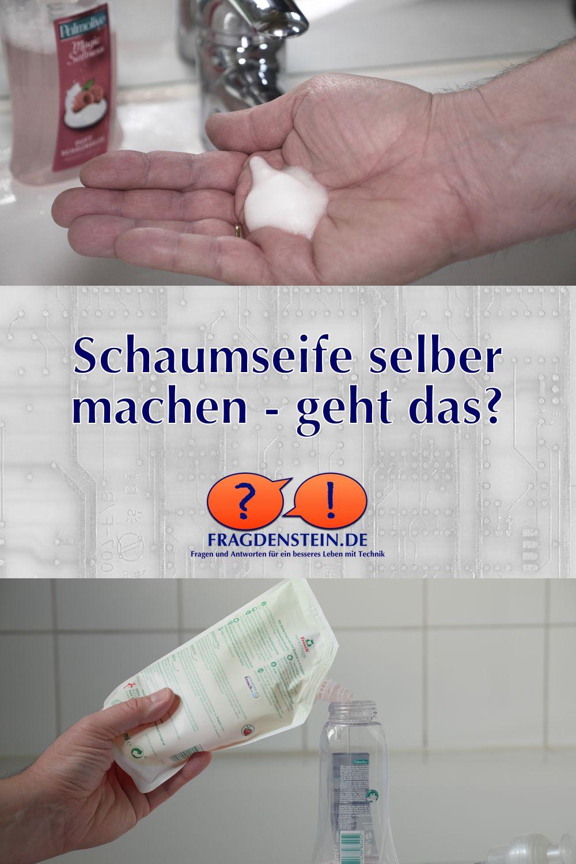 Schaumseife Selber Machen Geht Das Schaumseife Shampoo Selber