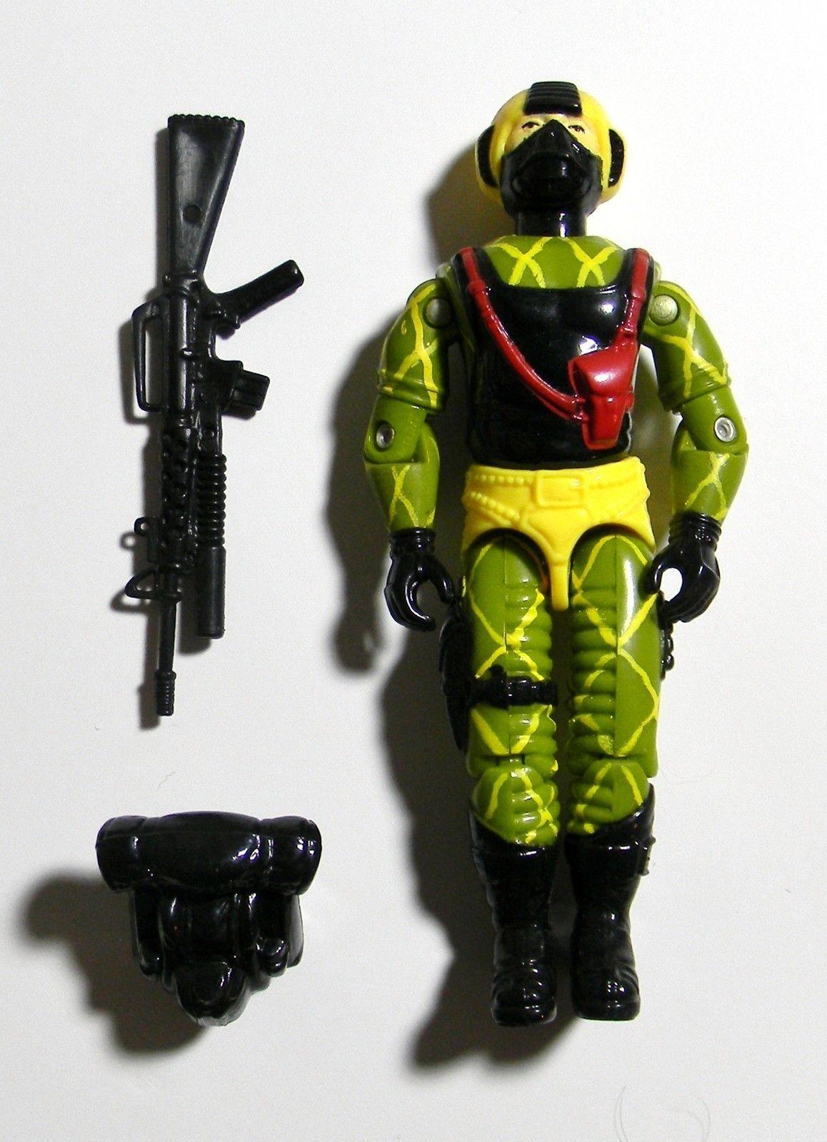 GI Joe Vintage 1989 Python Patrol Copperhead Backpack
