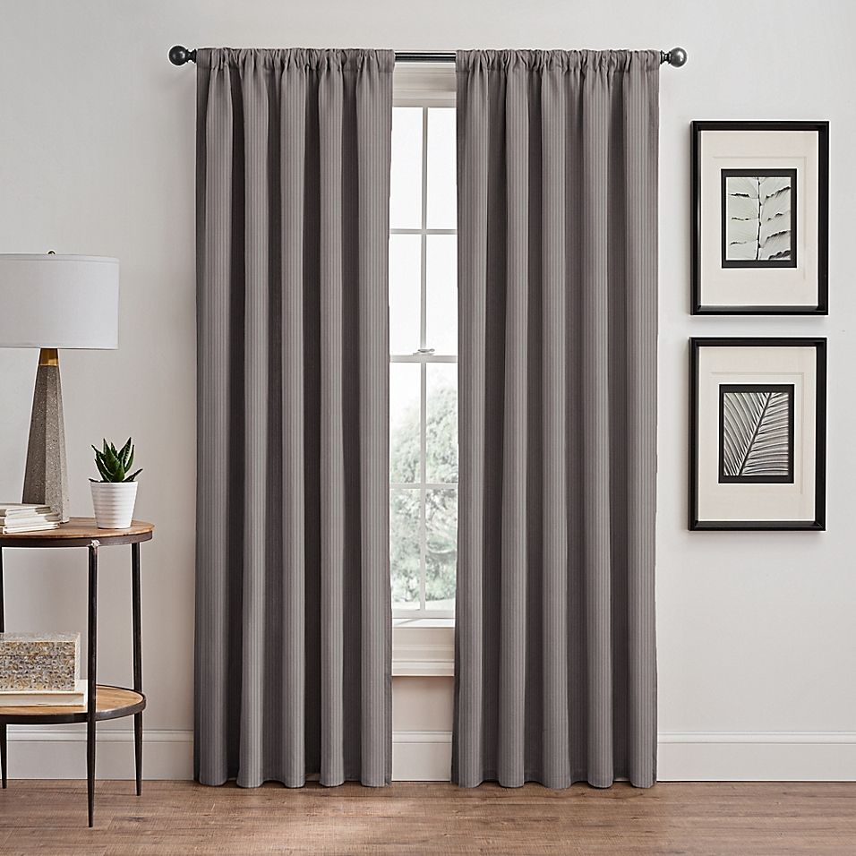 Room Darkening Window Curtain Panel
