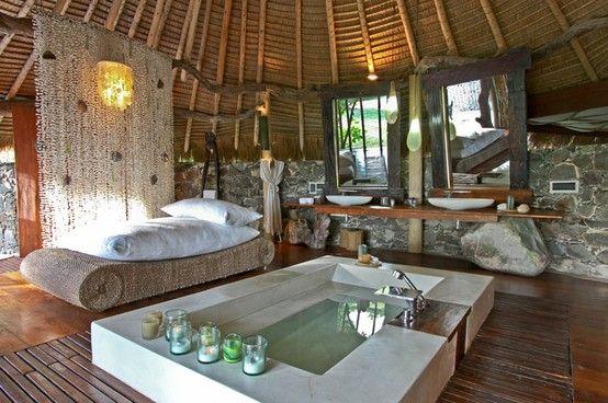 Bon Exotic Bathroom That Feels Like A Tropical Spa