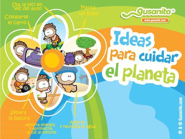 Ensenemoles A Nuestros Ninos Ideas Para Cuidar El Planeta