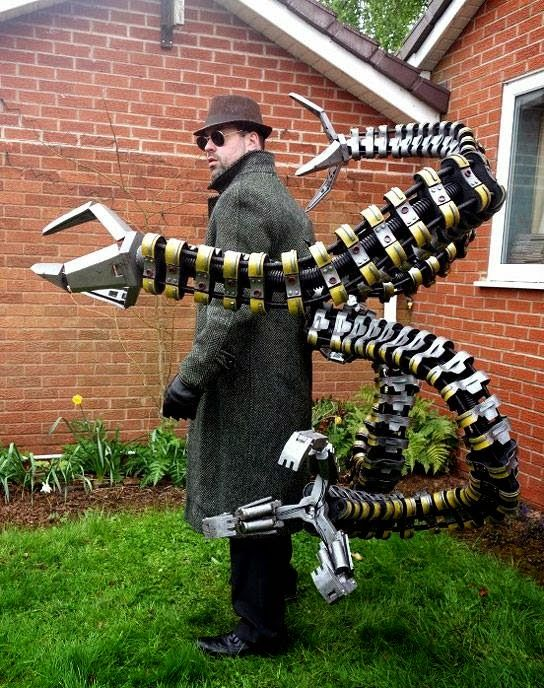 Cosplay Corner Doctor Octopus By Andy Morrish And Spider Trooper