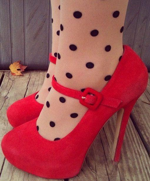 Red & Polka Dots