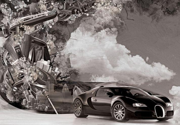 Car Black & White