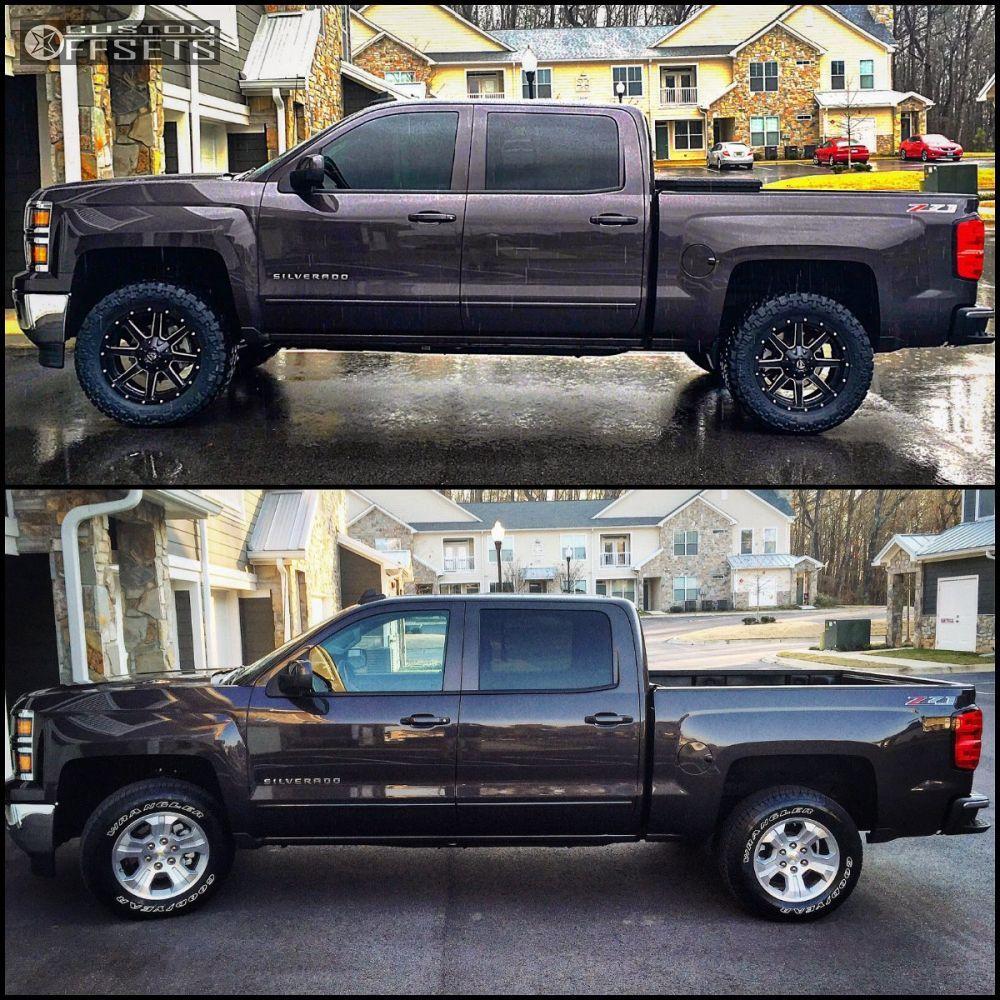 44573 12 2015 Silverado 1500 Chevrolet Leveling Kit Fuel