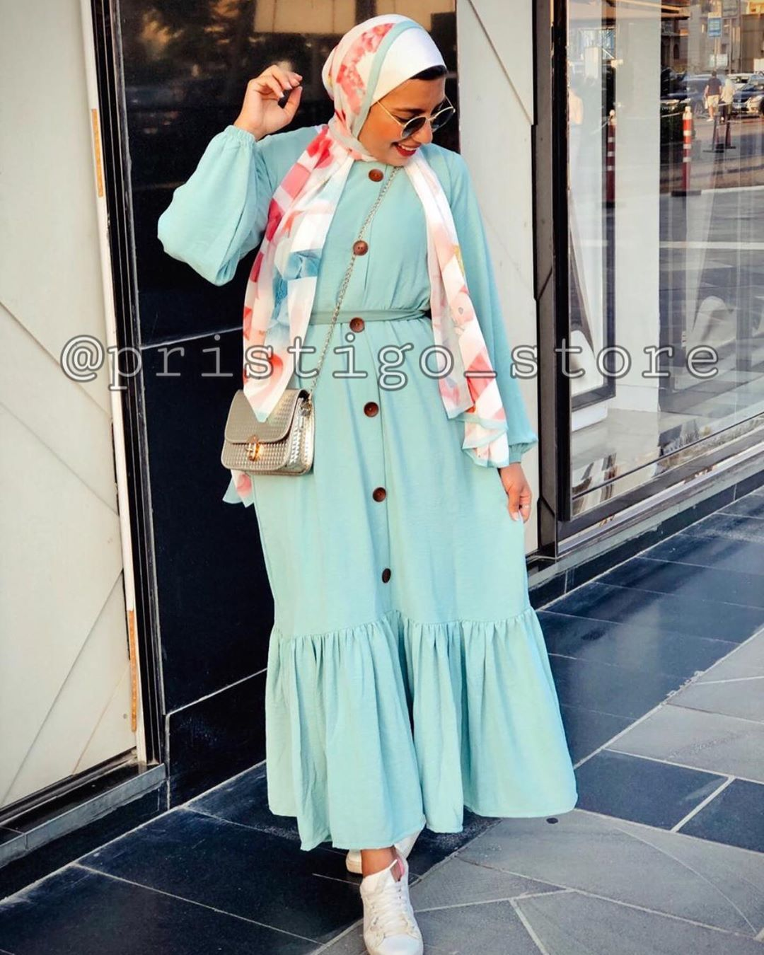 Pristigo On Instagram New Color Of Dress متاح الفستان ب٦ الوان هافان ابيض اسود كشمير اصفر منت جرين متوفر بجميع Fashion How To Wear Hijab