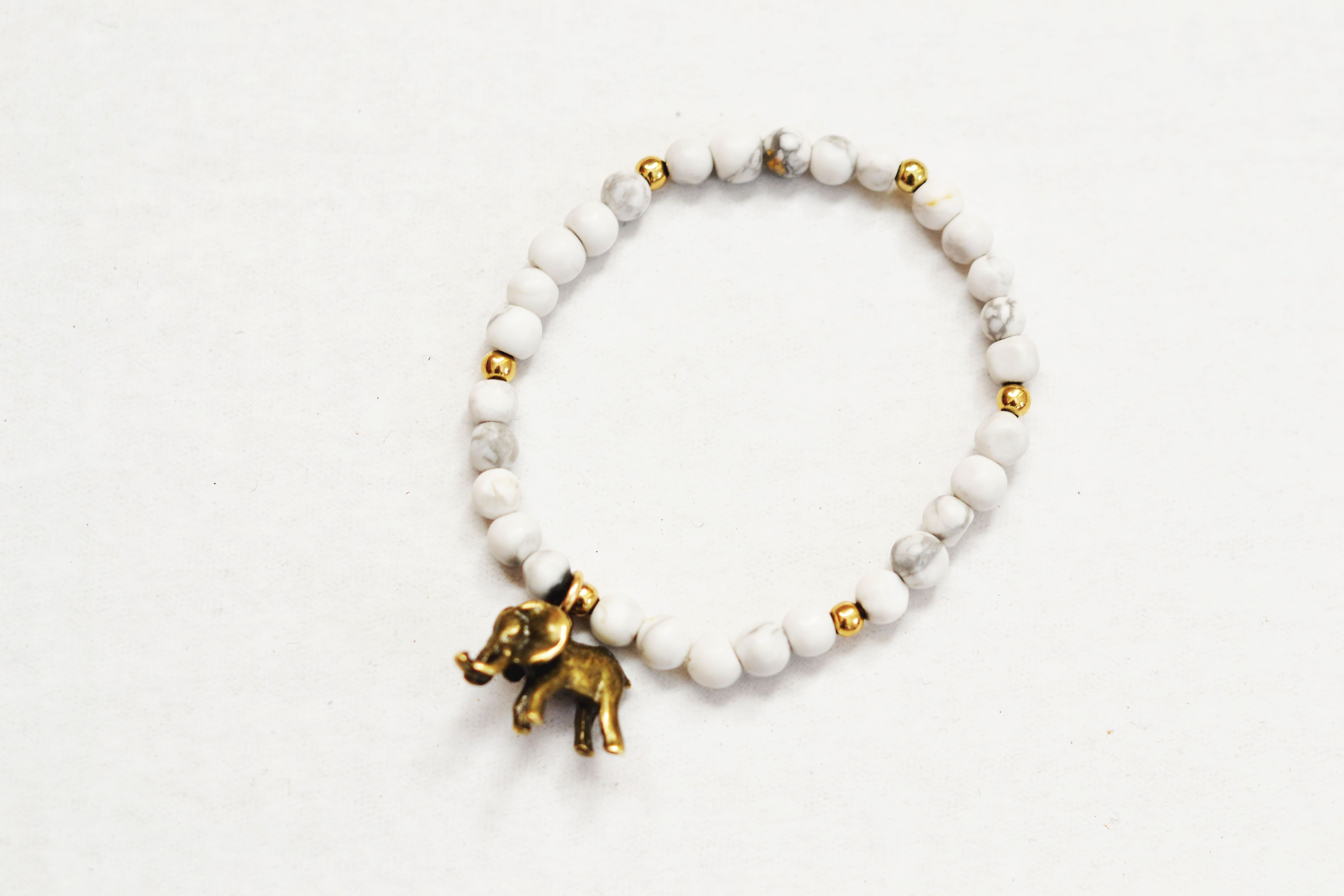 luck origami charm bracelet little sterling products elephant