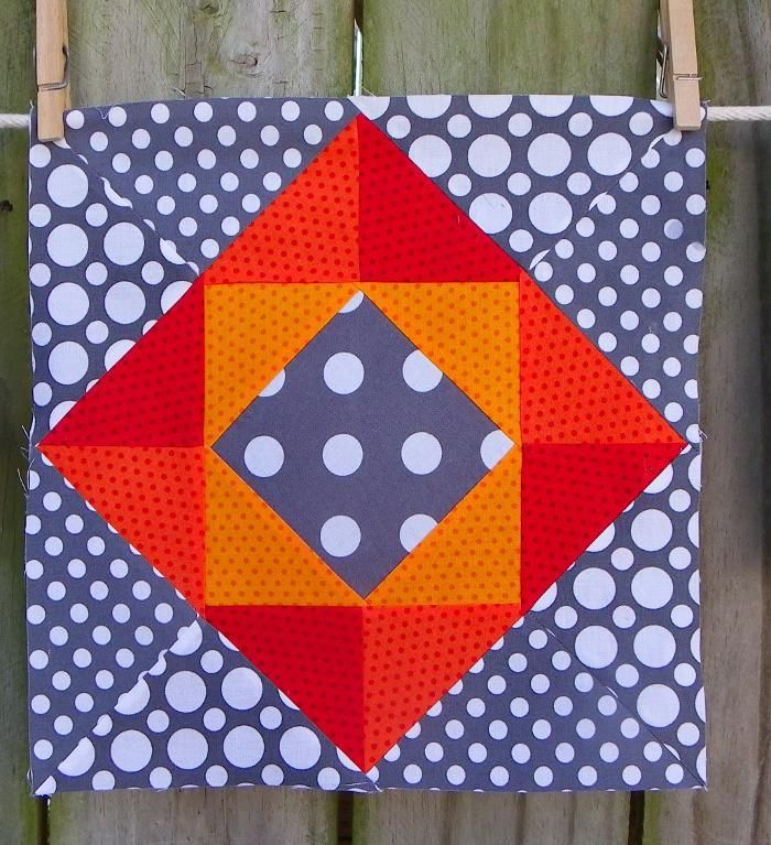 Wow - the colors chosen here give this block such a three ... - photo#16