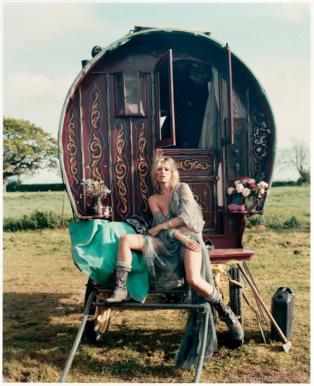 Kate Moss by Iain McKell