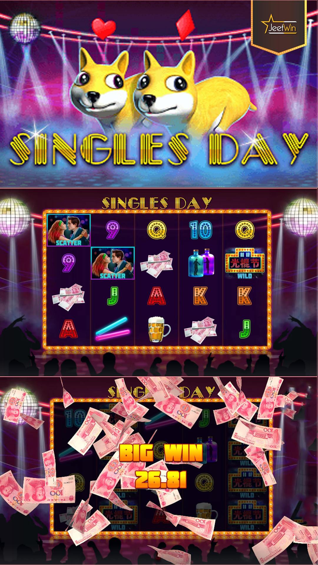 Play the Singles Day Slot game and get a chance to win BIG