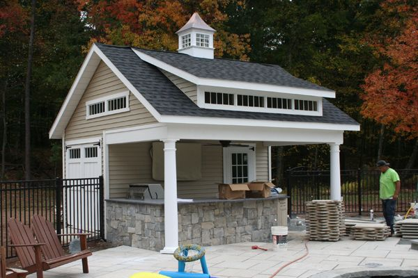 7 Hottest Pool House Trends Kloter Farms Blog Pool House Shed Pool House Plans Small Pool Houses