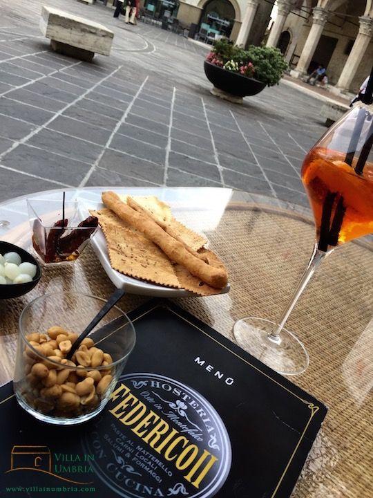Montefalco @ Piazza del Comune# Federico II #Umbria #food
