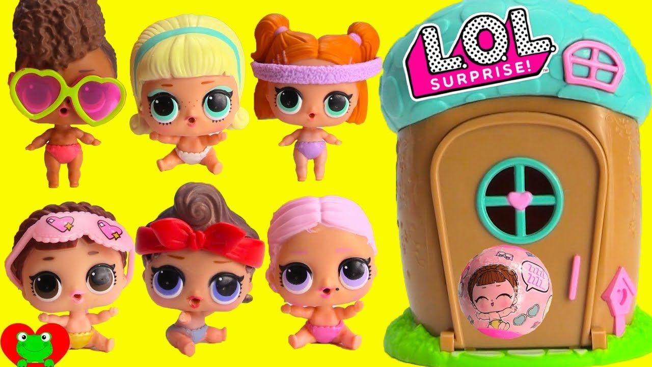 Lol Surprise Confetti Pop Lil Sisters Big Head Little -9273