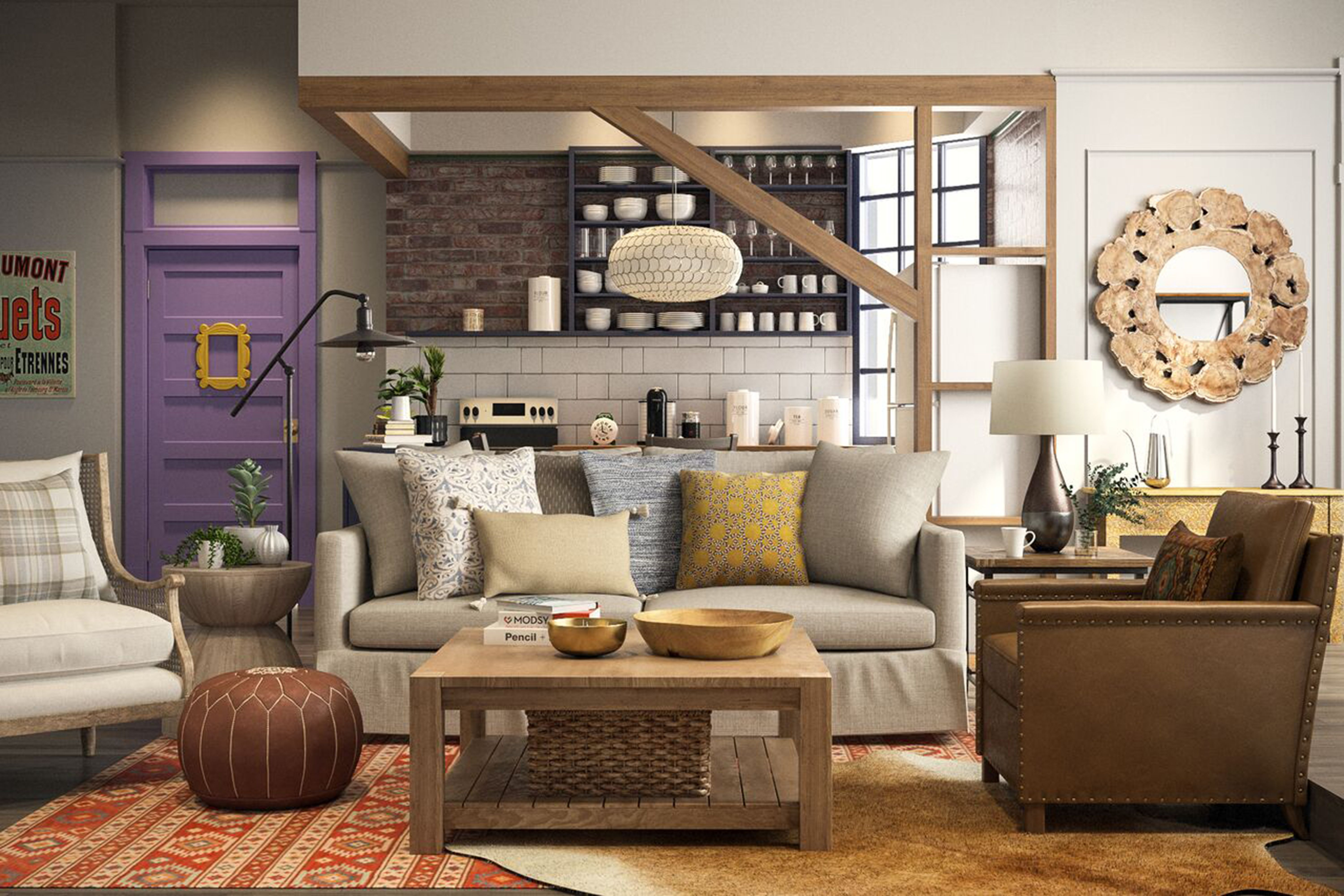 This Is What The Apartments From Friends Would Look Like In 2018 Friends Apartment Decor Friends Apartment Monicas Apartment