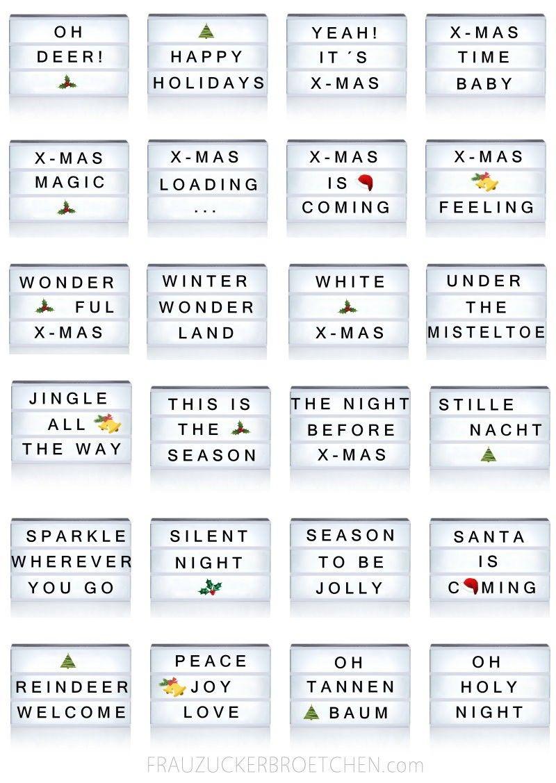 Lightbox Christmas Light Box Quotes Light Box Quotes Funny Message Light Box