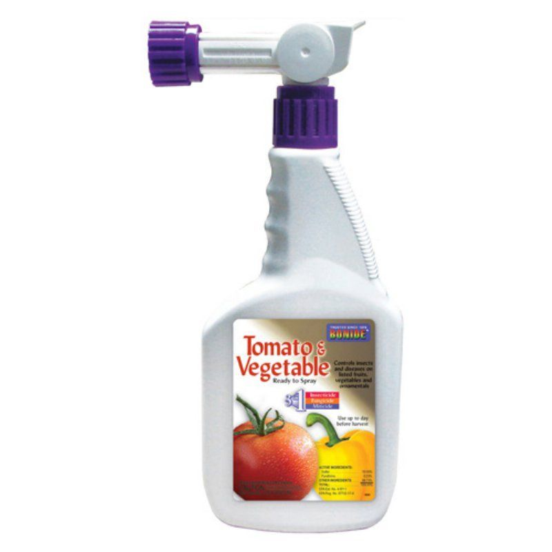 Bonide tomato and vegetable insect control spray 917265