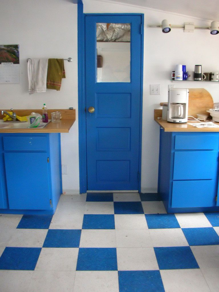 fun kitchy blue office kitchenette | Kitchenettes | Pinterest ...