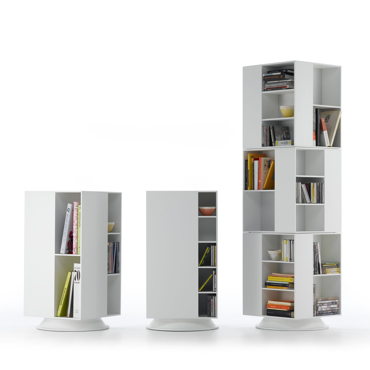 These James Irvine Box Storage units can stack on the swivel base creating various configurations in  sc 1 st  Pinterest & These James Irvine Box Storage units can stack on the swivel base ...