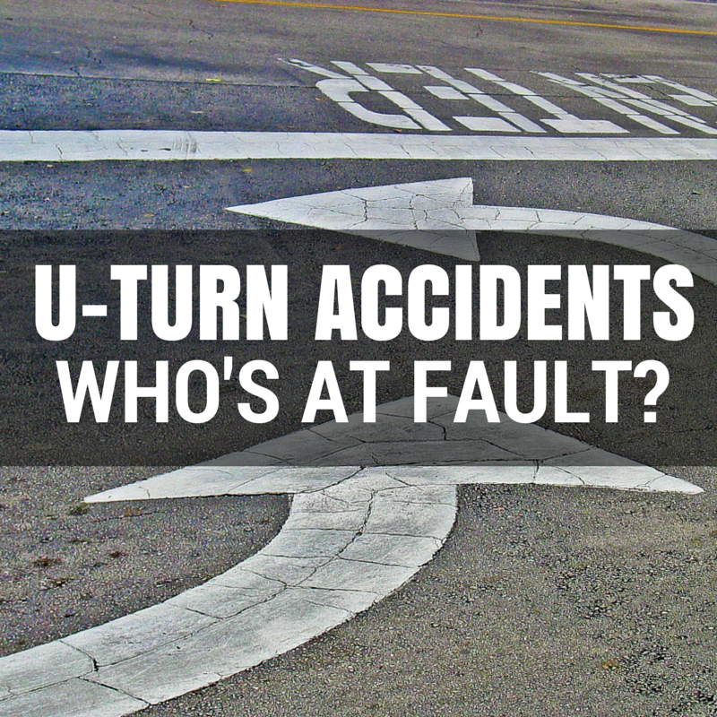 Who's At Fault For A U-turn Accident? Get The Facts