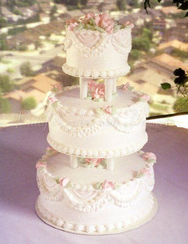 3 Tier Wedding Cakes Archives