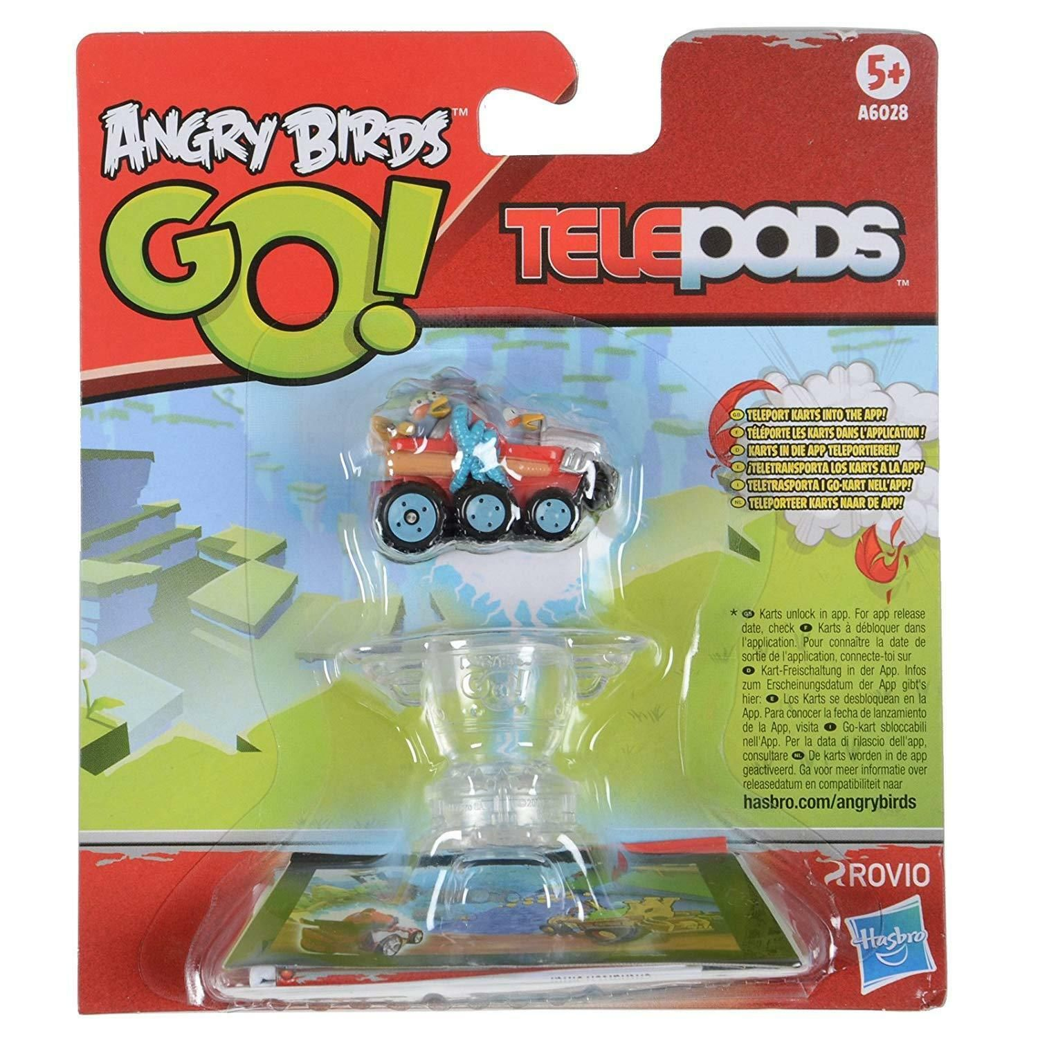 Blue Jay Jake and Jim Telepods BLUE Birds Kart NEW Angry Birds GO
