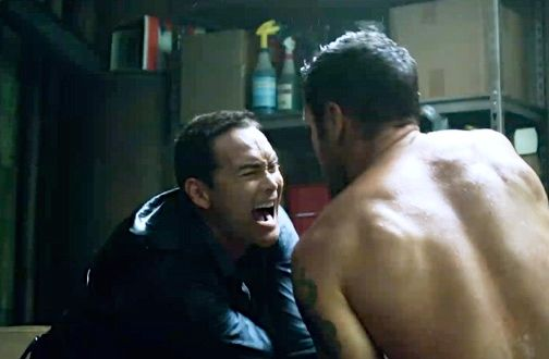 "Wo Fat and McGarrett fight it out in the 100th episode of ""Hawaii Five-0."" #H50 #Five0Redux http://www.honolulupulse.com/2014/11/five-0-redux-aloha-oe-wo-fat/"