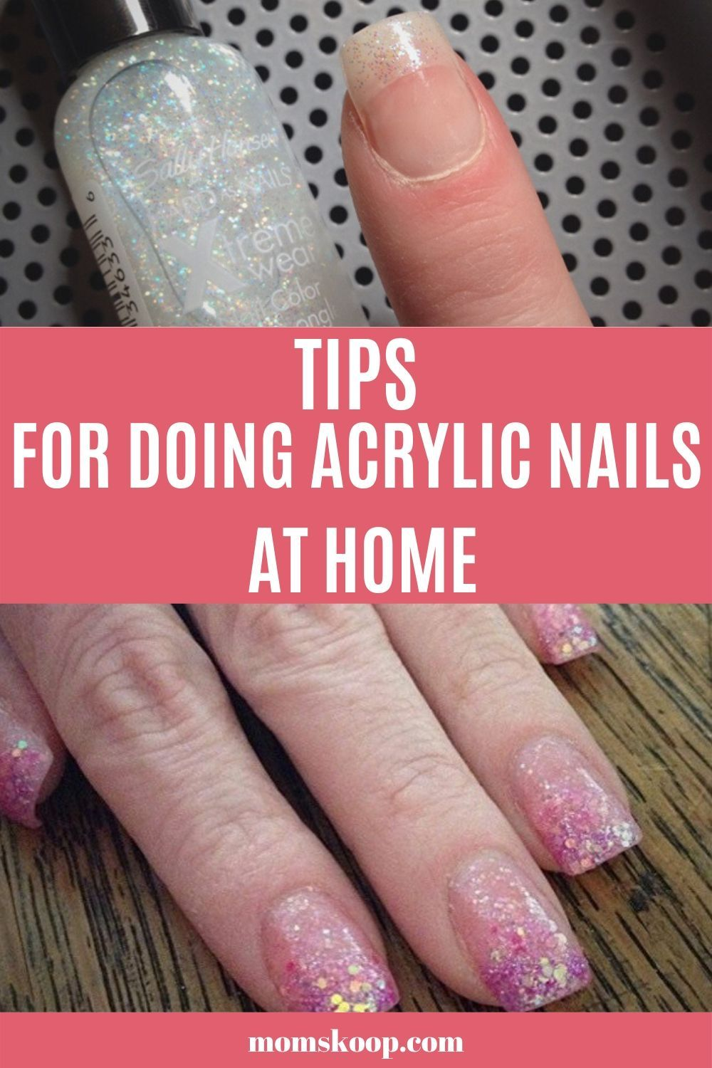 Tips For Doing Acrylic Nails At Home Diy Acrylic Nails Acrylic Nails At Home Nails