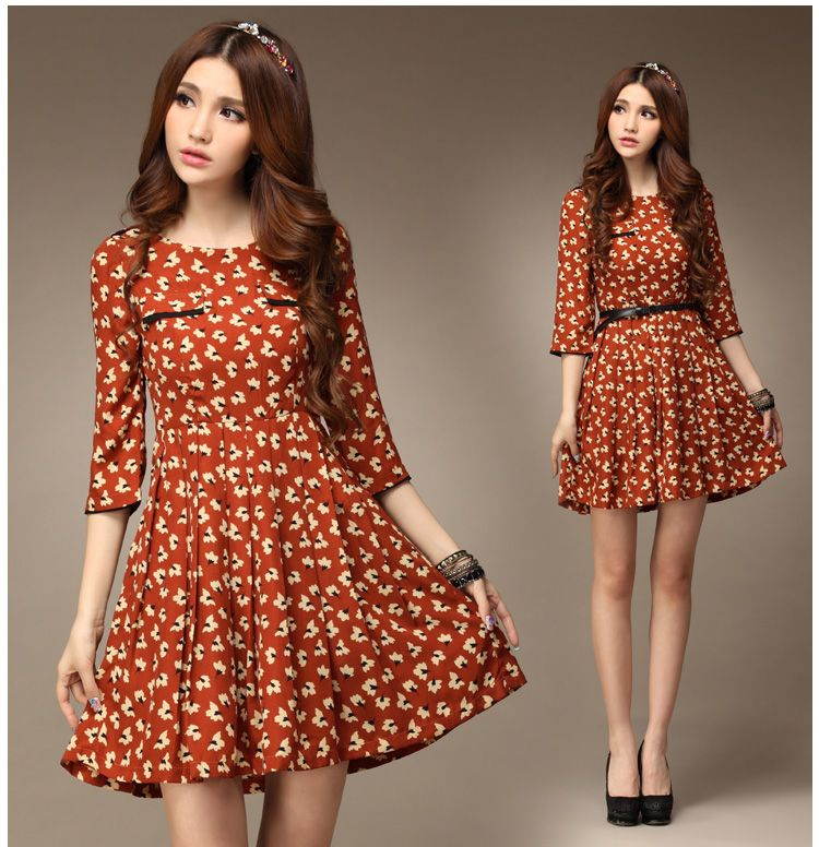 2013 Spring Fashion Collection Dress 1689 - korean japan fashion ...
