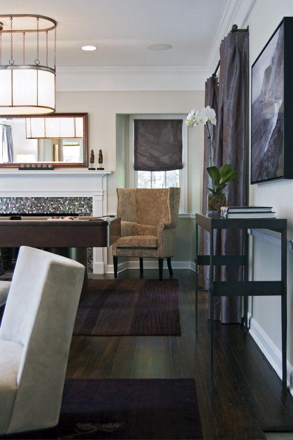 Wooden Furniture Living Room Designs: Decorating Around Dark Floors