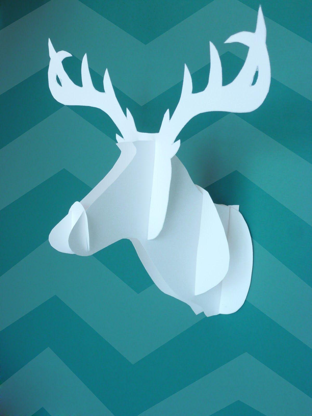 DIY Faux Deer Head