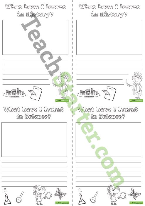 What Have I Learnt In Reflection Worksheets Projetos A
