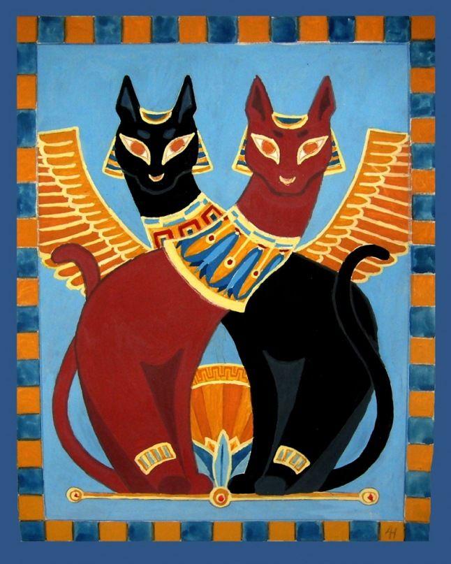 независимости коты в египте рисунок скорее иная форма
