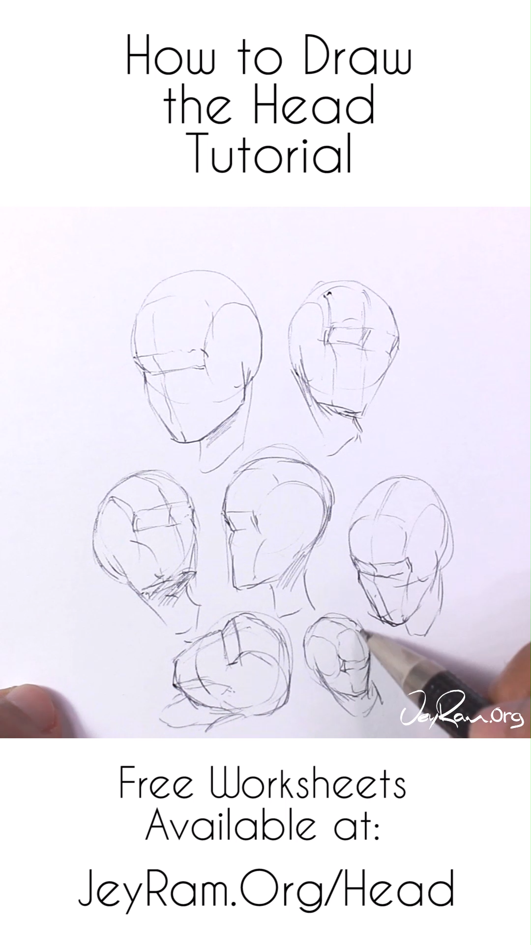 How to Draw the Head from Any Angle: Step by Step Tutorial for Beginners