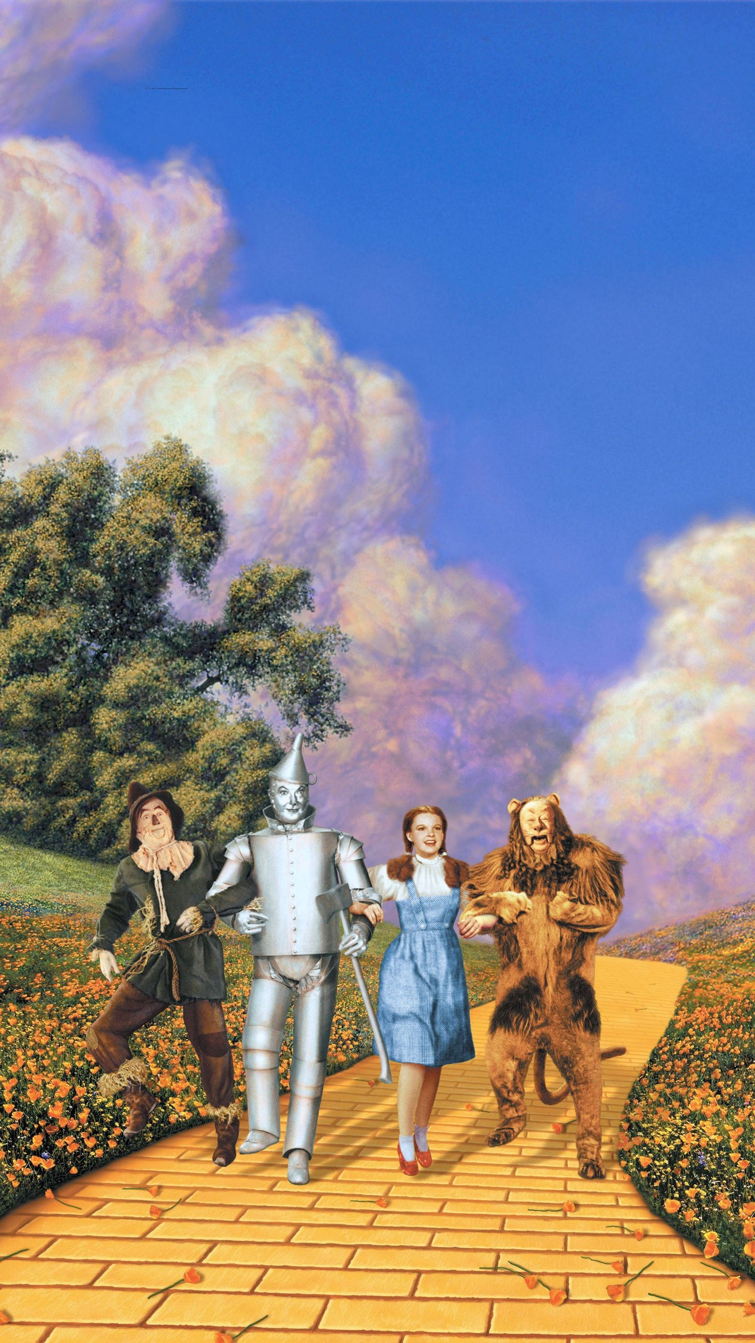 The Wizard Of Oz Phone Wallpaper In