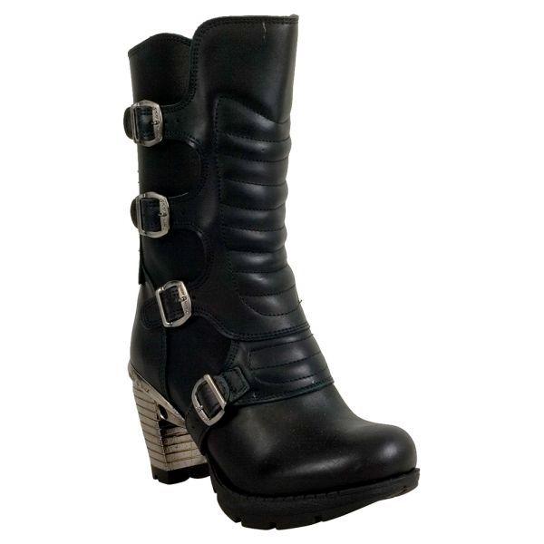 M-tr003x-s2, Womens Biker Boots New Rock