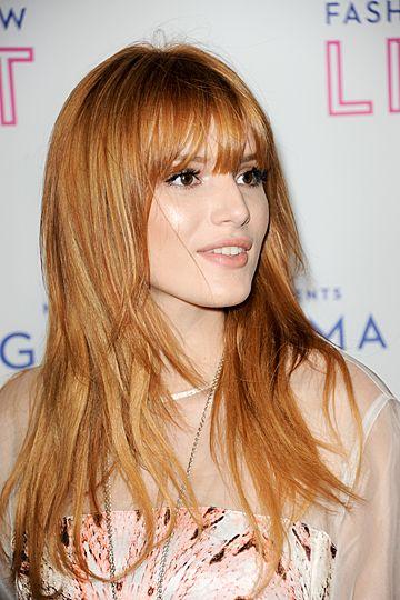 Bella Thorne....hmm new hair color? little lighter?