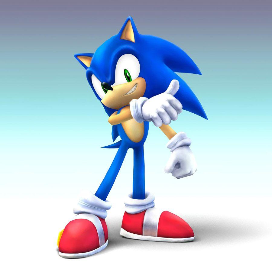 Sonic Characters Art Super Smash Bros Brawl Sonic Fiesta De Sonic Sonic El Erizo [ 880 x 900 Pixel ]