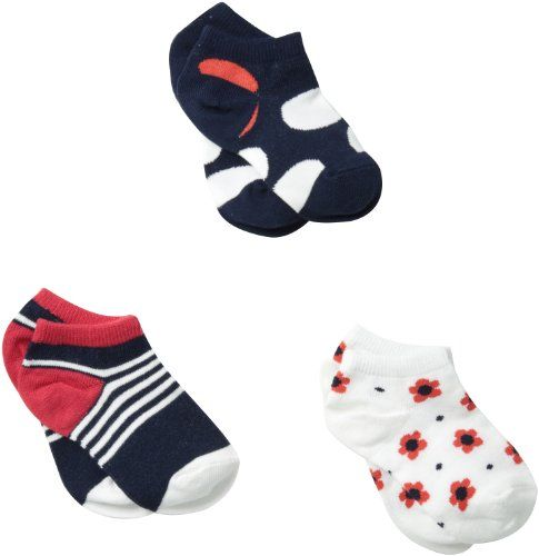 Country Kids Little Girls  PickAMix Liner Socks 3 Pair Navy Sock Size 56 Shoe Size 37 *** See this great product.