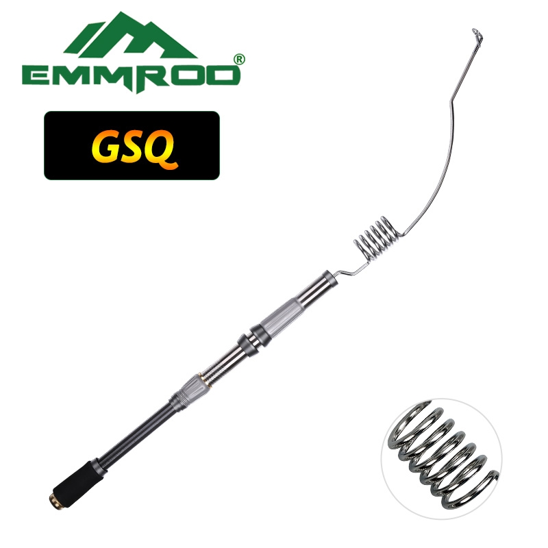 70.00$  Buy now - http://aliol5.worldwells.pw/go.php?t=32645982888 - EMMROD Lengthened Bait Casting Rod Packer Rod Compact Fishing Pole Cast Rod Stainless Portable Ice Fishing rod Boat Raft Rod GSQ 70.00$