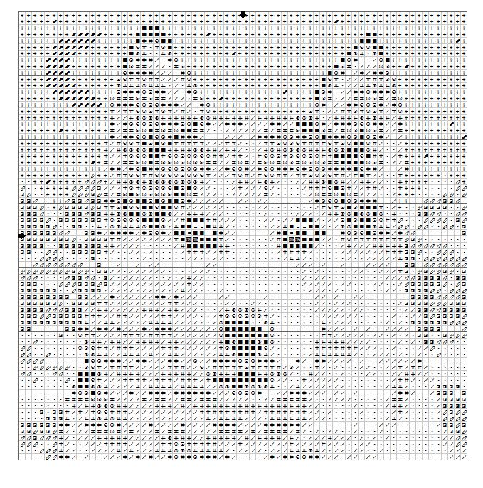 Kreuzstich handarbeiten pinterest kreuzstich wolf for Sticken vorlagen kostenlos