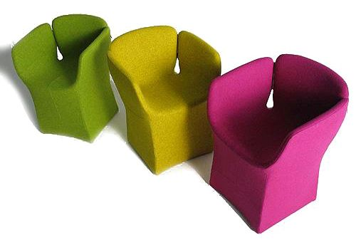 Patricia Urquiola, bloomy seats