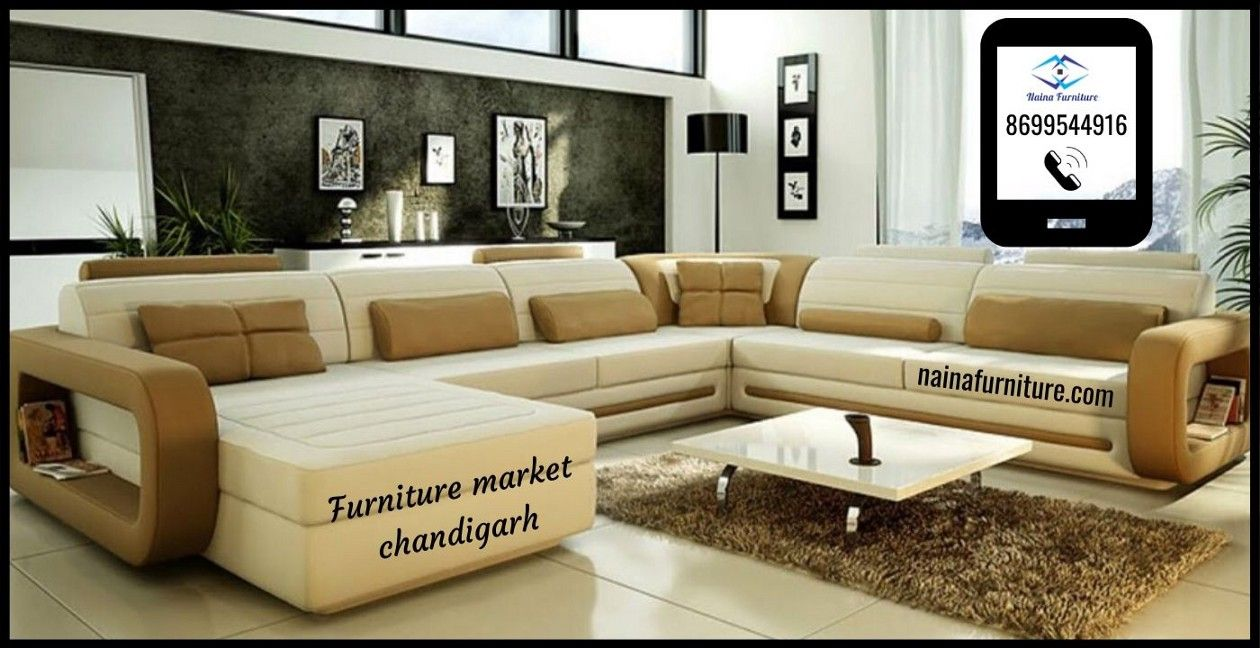 There Is A Furniture Market Chandigarh Where They Have The Largest