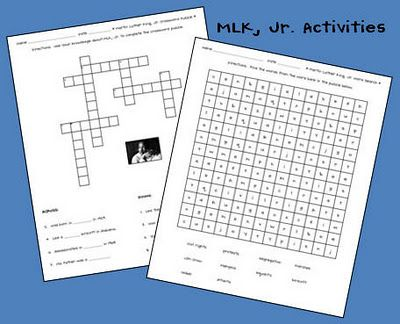 MLK, Jr. Activities! - Classroom Freebies